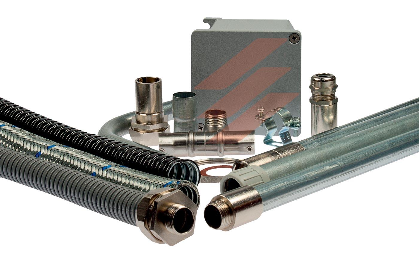 Система металевих кабельних труб Stilma
