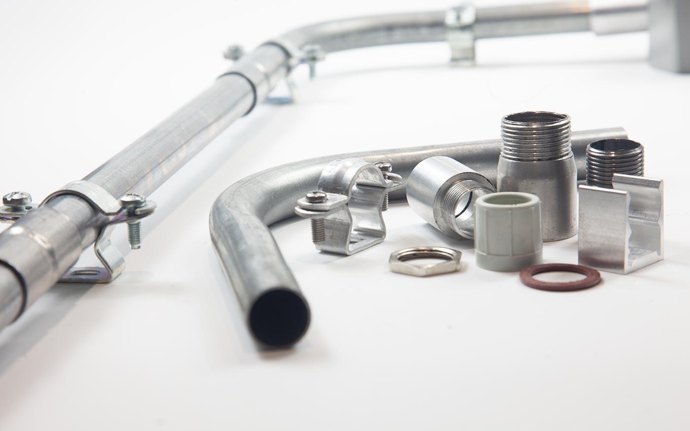 Електротехнічні металеві кабельні труби TubeFlex