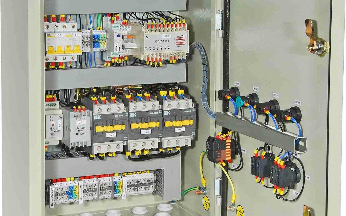 Ящики управління електродвигунами Я-5000